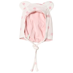 Image of United Colors of Benetton Hat White & Pink 68 (6-9 mdr) (3018745523)