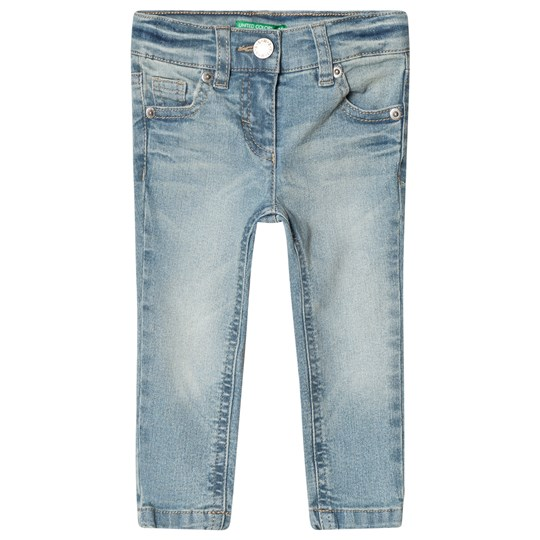 United Colors of Benetton Skinny Jeans Light Blue Blue