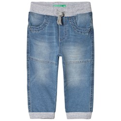 United Colors of Benetton Pull-Up Jeans Blue/Grey