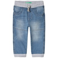 United Colors of Benetton Pull-Up Jeans Blue/Grey Blue