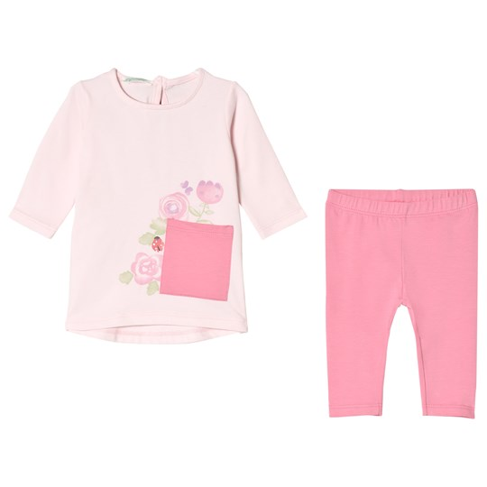 United Colors of Benetton Top and Leggings Set Candy Pink Candy Pink
