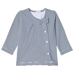 United Colors of Benetton Striped Tee Blue/White
