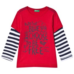 United Colors of Benetton Sea T-Shirt Red