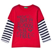 United Colors of Benetton Sea T-Shirt Red Red