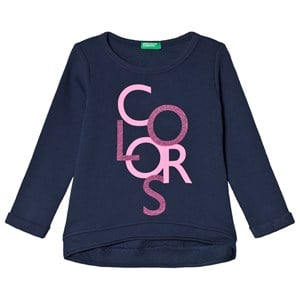 Image of United Colors of Benetton Sweater Navy M (7-8 år) (3018746127)