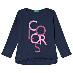 Image of United Colors of Benetton Sweater Navy EL (11-12 år) (3018746133)