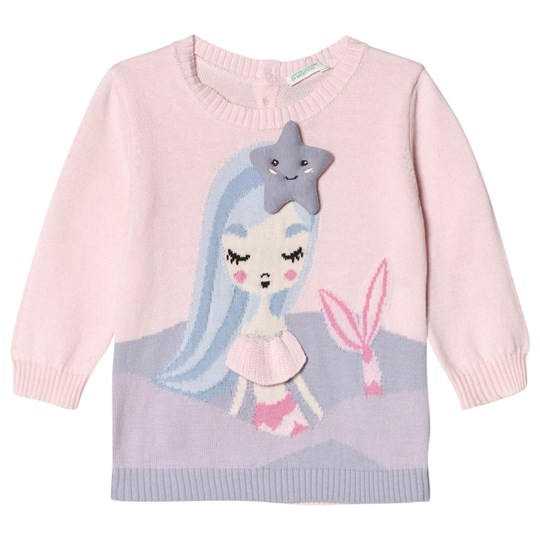United Colors of Benetton Mermaid Sweater Pink Pink