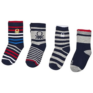 Image of United Colors of Benetton 4-Pack Knitted Socks Multi EU 20-24 (3018746283)