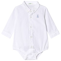 United Colors of Benetton Skjorta Baby Body Vit