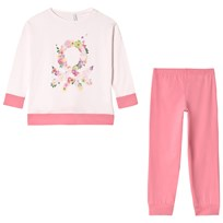 United Colors of Benetton Pyjamas Set Rosa Pink