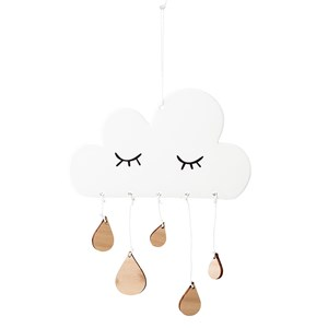 Image of Bloomingville Cloud Stoneware Wall Decoration (3018746883)