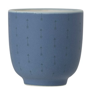 Image of Bloomingville Blue Stoneware Cup (3057460839)