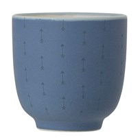 Bloomingville Blue Stoneware Cup Blue