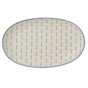 Image of Bloomingville Blue Stoneware Plate (3018746889)
