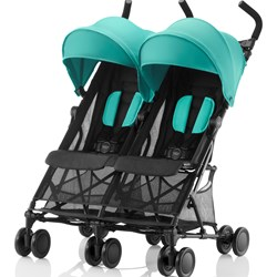 Britax Holiday Syskonvagn Aqua Green