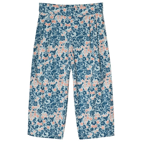 Anïve For The Minors Pleat Pants Bysans Blue Blue
