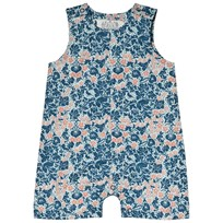 Anïve For The Minors Baby Romper Bysans Blue Blue
