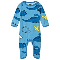 Småfolk Air Blue Dino Print One-Piece 701