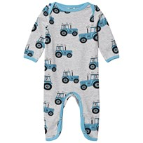 Småfolk Grey Car Print One-Piece 236