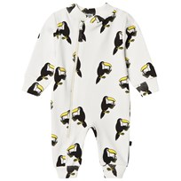 Småfolk Cream Toucan Print Onesie 199