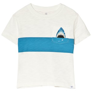 Image of GAP Monster Pocket T-Shirt New Off White 18-24 mdr (3019785071)