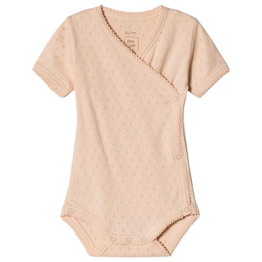Noa Noa Miniature Short Sleeve Baby Body with Pointelle Pattern Bellini BELLINI