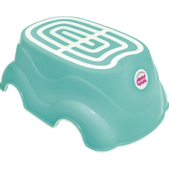 OK-baby Herbie Step-Up Stool Turquoise Turquoise