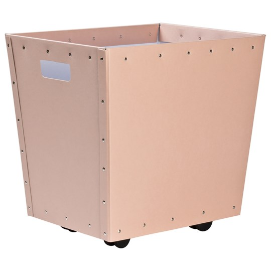 Bigso Box of Sweden Tellus Wheeled Storage Box Dusty Pink 521 Dusty Pink