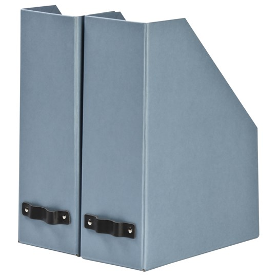 2 pack tidningsh llare dusty blue bigso box of sweden babyshop. Black Bedroom Furniture Sets. Home Design Ideas