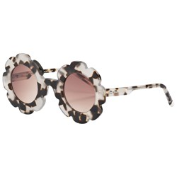 Sons + Daughters Cheetah Print Pixie Sunglasses