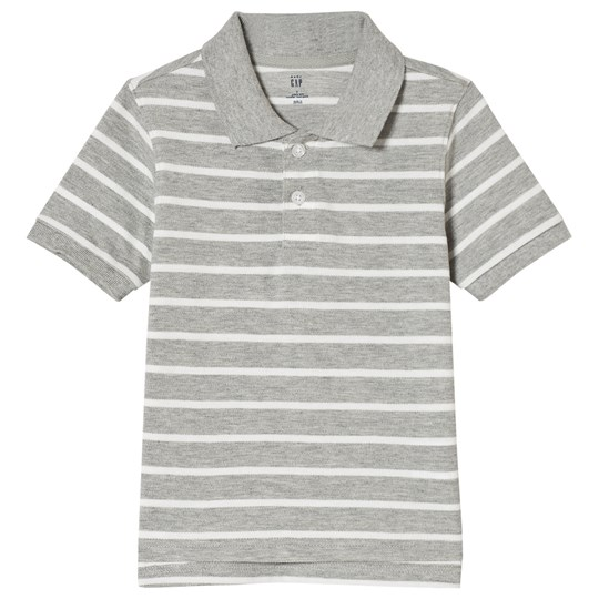 Gap Pikétröja Grå Light Heather Grey B08