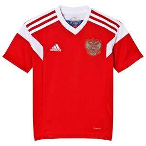 Image of Russia National Football Team Russian 2018 World Cup Home Top Red 11-12 Years (3022922339)