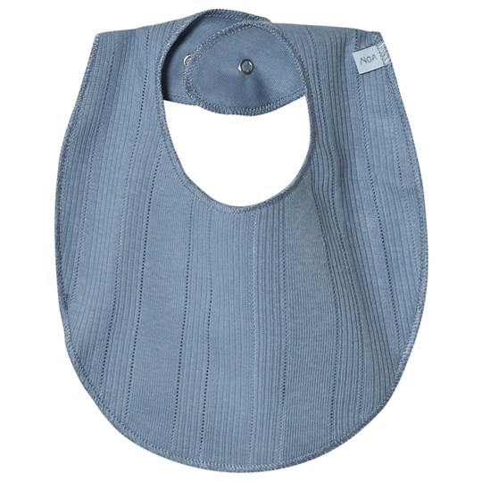Noa Noa Miniature Soft Basic Bib Blue Faded Denim