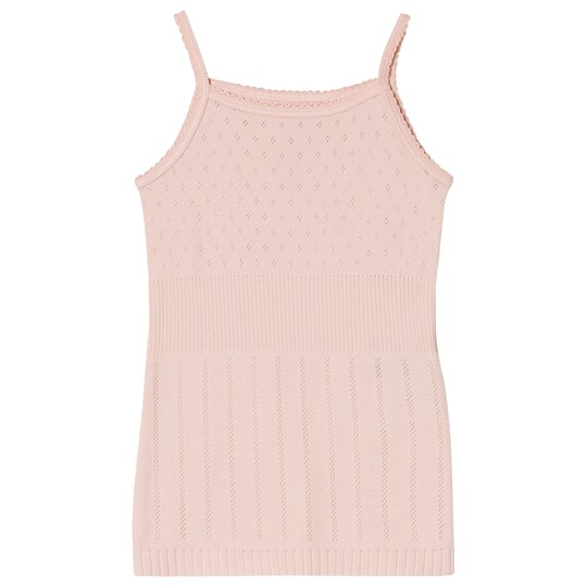 Noa Noa Miniature Peachy Keen Top with Pointelle Pattern and Straps Peachy Keen