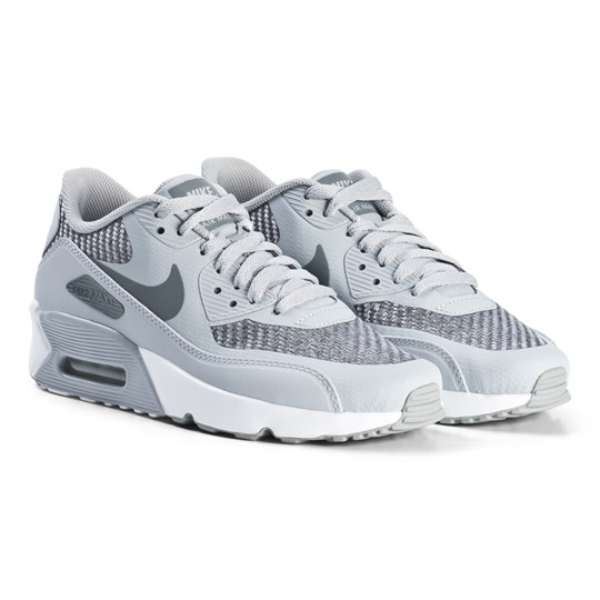NIKE Air Max 90 2.0 Ultra Junior Shoes Wolf Grey 006