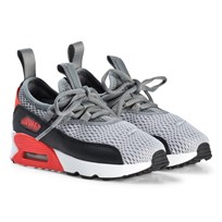 NIKE Air Max 90 EZ Kids Shoes Wolf Grey 002