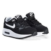 NIKE Black Air Max 1 Kids Shoes 001