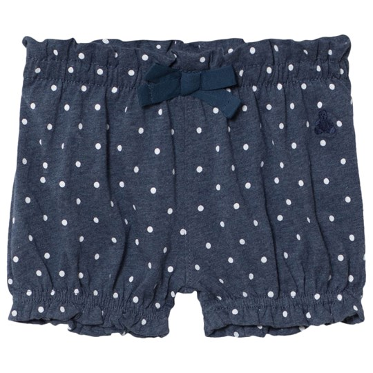 GAP Blue Heather Graphic Bow Shorts BLUE HEATHER