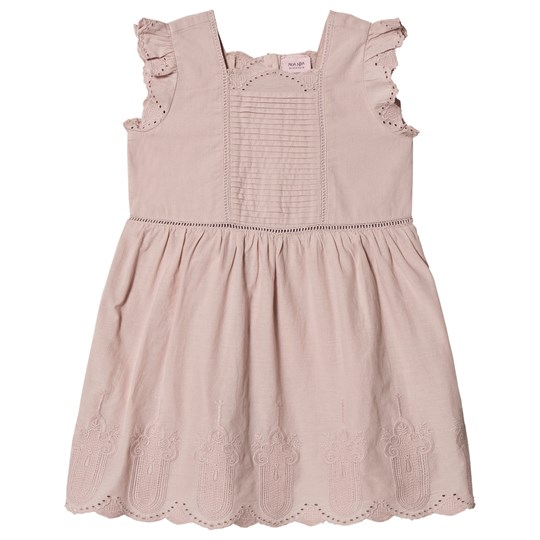 Noa Noa Miniature Knee Length Short Sleeve Dress Shadow Grey SHADOW GRAY
