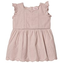 Noa Noa Miniature Pretty Detailed Baby Dress Shadow Grey SHADOW GRAY