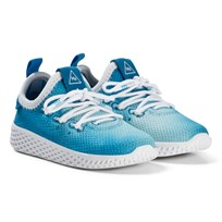 adidas Originals Bright Blue Pharrell Williams Tennis HU Infants Shoes Blue