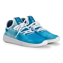 adidas Originals Bright Blue Pharrell Williams Tennis HU Junior Shoes Bright Blue