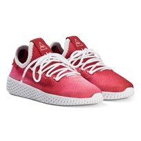 adidas Originals Scarlet Pharrell Williams Tennis HU Kids Shoes SCARLET