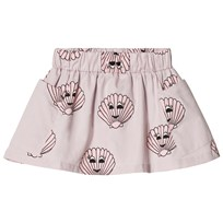 Hugo Loves Tiki Pocket Skirt Pink Seashells Pink/Purple w/Pink Seashells Graphic AOP
