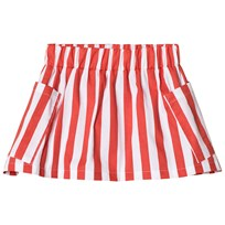 Hugo Loves Tiki Pocket Skirt White With Red Stripes White w/Red Stripes