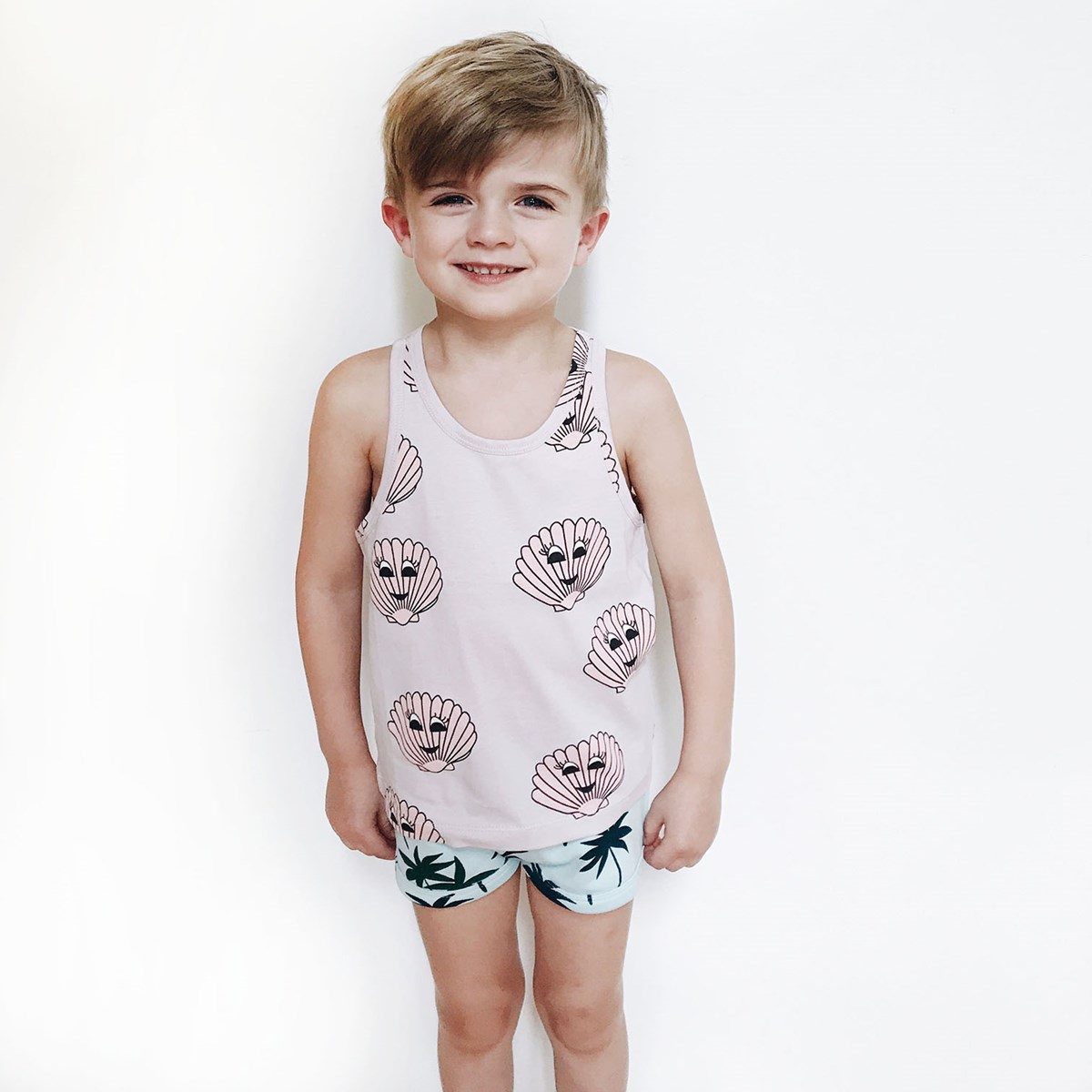 e18cd97f72f8ad Hugo Loves Tiki - Tank Top Pink Seashells - Babyshop.com