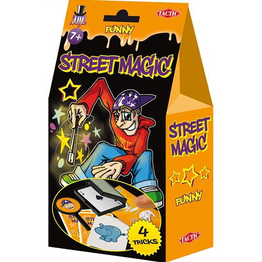 Tactic Street Magic, 4 trick, Orange Multi