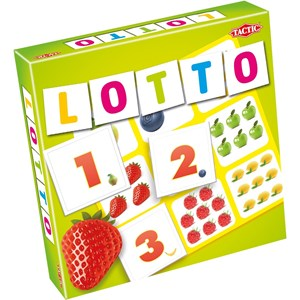 Image of Tactic Lotto, Siffror & Frukter 3+ years (850032)