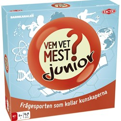 Tactic Who Knows Most Junior Family Game