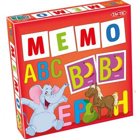 Tactic ABC Memory Red
